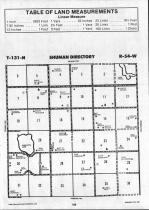 Sargent County Map Image 017, Ransom and Sargent Counties 1992
