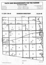 Sargent County Map Image 023, Ransom and Sargent Counties 1992
