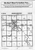Sargent County Map Image 025, Ransom and Sargent Counties 1992
