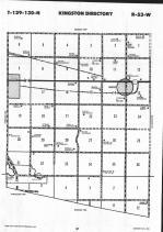 Sargent County Map Image 029, Ransom and Sargent Counties 1992