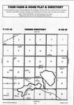 Sargent County Map Image 009, Ransom and Sargent Counties 1993