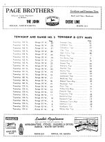 Table of Contents, Renville County 1956