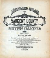 Title Page, Sargent County 1909