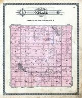 Highland Township, Seibold Lake, Krueger Lake, Sheridan County 1914