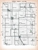 Index Map, Steele County 1958 Eastern Township