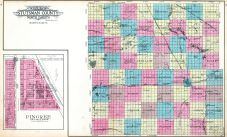 County Outline, Pingree, Stutsman County 1911