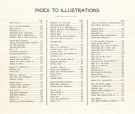 Index to Illustrations, Stutsman County 1911