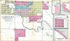 Jamestown - South, Fried, Spring Grove, Vashti, Lakeview Park, Stutsman County 1911