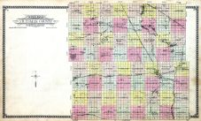County Outline, Stutsman County 1930