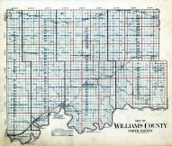 County Map, Williams County 1914