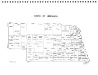 Nebraska State Map, Boyd County 1962