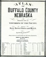 Title Page, Table of Contents, Buffalo County 1919