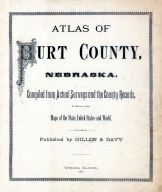 Title Page, Burt County 1884