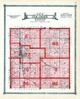 Oak Creek Township, Butler and Polk County 1918