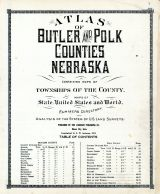 Title Page, Table of Contents, Butler and Polk County 1918