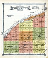 Topographical Map - Polk County, Butler and Polk County 1918