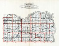 Cass County School Districts Map, Cass County 1905