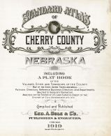 Title Page, Cherry County 1919