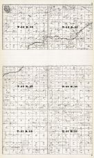 Townships 31, 32 and 33, Ranges 37 and 38, Niobrara River, Lavaca P.O., Coffey Lake, Leander Creek, Cherry County 1919
