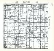 Townships 26 and 27, Ranges 25 and 26, Cascade P.O., Cherry County 1938