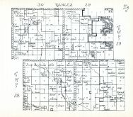 Townships 28 and 29, Ranges 29 and 30, Mule Lake, Beaver Lake, Cherry County 1938