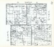 Townships 28 and 29, Ranges 31 and 32, Cherry County 1938