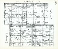 Townships 28 and 29, Ranges 33 and 34, Gordon Creek, Cherry County 1938
