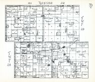 Townships 28 and 29, Ranges 37 and 40, Turpin Lake, Cherry County 1938