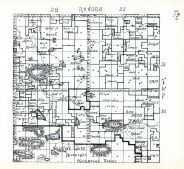 Townships 30 and 31, Ranges 27 and 28, Red Deer Lake, Trout Lake, Valentine Lakes Migratory Water Foul Refuge, Cherry County 1938