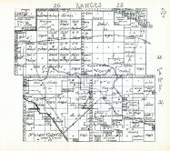 Townships 32 and 33, Ranges 25 and 26, Sawyer Wagon Road, Cherry County 1938