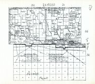 Townships 32 and 33, Ranges 31 and 32, Sawyer Wagon Road, Gordon Trail, McFarland Canyon, Cherry County 1938