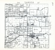 Townships 34 and 35, Ranges 37 and 38, Merriman Village, Cherry County 1938