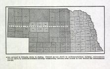 Nebraska State Map, Cherry County 1956