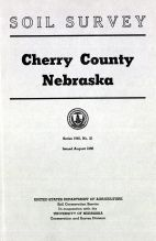 Title Page, Cherry County 1956