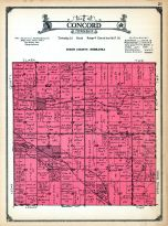 Concord Township, Dixon and Dakota Counties 1925
