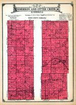 Otter Creek Township, Emerson Township, Dixon and Dakota Counties 1925