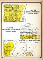 Ponca Township - 2,  New Castle Township - 2, Hooker Township - 2, Dixon and Dakota Counties 1925