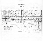 Cotterell Township - Code X, Dodge County 1962
