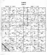 Cuming Township - Code P, Dodge County 1962