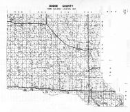 Dodge County Farm Building Map, Dodge County 1962