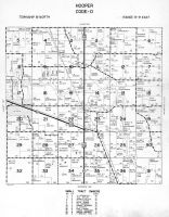 Hooper Township - Code D, Dodge County 1962
