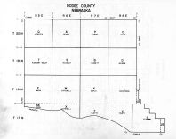 Index Map, Dodge County 1962