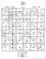 Maple Township - Code K, Dodge County 1962