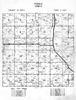 Pebble Township - Code A, Dodge County 1962