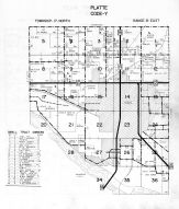 Platte Township - Code Y, Dodge County 1962
