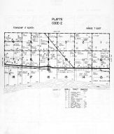Platte Township - Code Z, Dodge County 1962