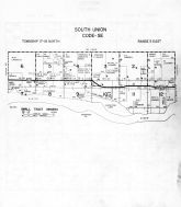 South Union Township - Code SE, Dodge County 1962