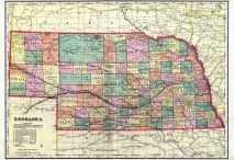 State Map, Gosper County 1904