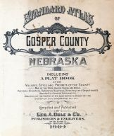 Title Page, Gosper County 1904