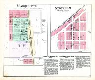 Marquette and Stockham, Hamilton County 1888